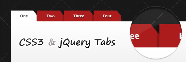 CSS3 tabs with beveled corners (1/3)