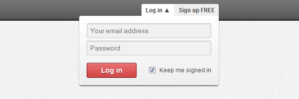 drop-down-login