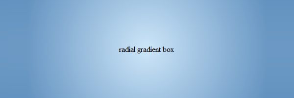 css-radial-gradient