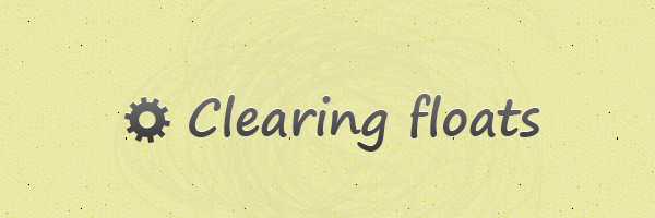 clearing-floats