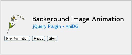jQuery Plugin AniDG Background image animation