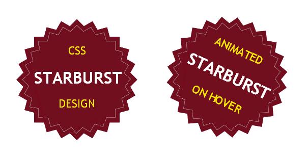 css-starburst-design
