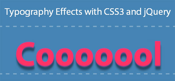 typography-effects-with-css-jquery