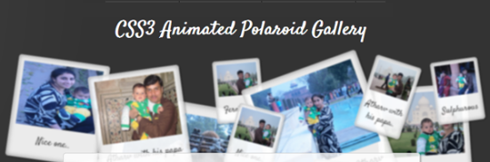 css3-animated-polaroid-gallery